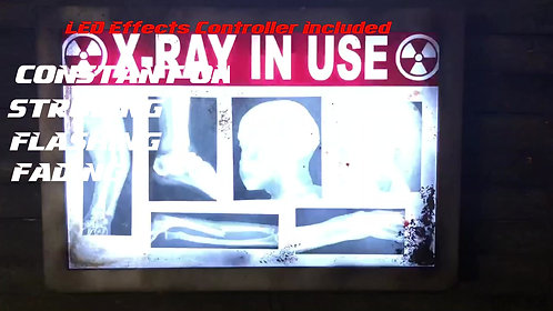 X-RAY Lighted Sign