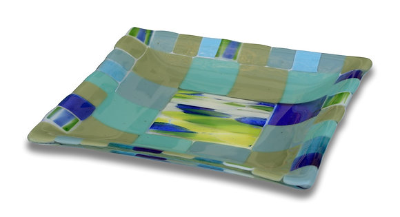Fused Glass Plate - Small
