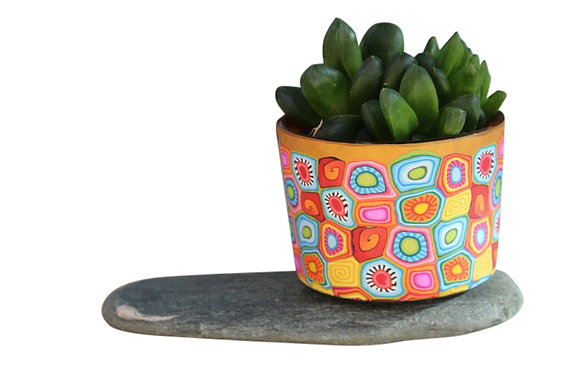 Small Plant Pot Galilee Design