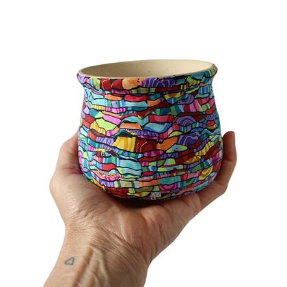 Colorful Little Plant Pot