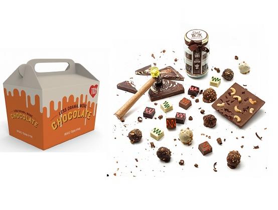 מארז שוקולד כשר לפסח לעובדים עם ערך מוסף