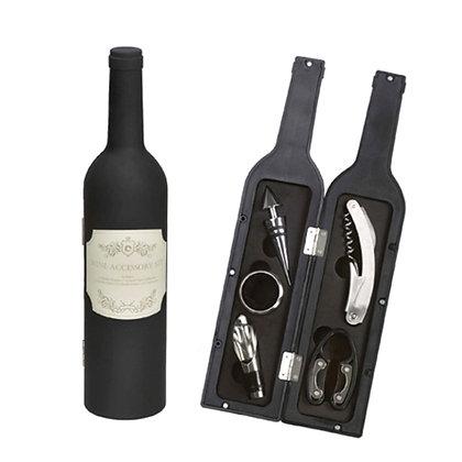 בקבוק עם פותחני יין