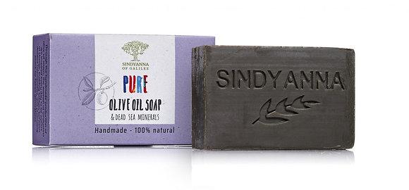 סבון שמן זית עם תוספת מינרלים מים המלח