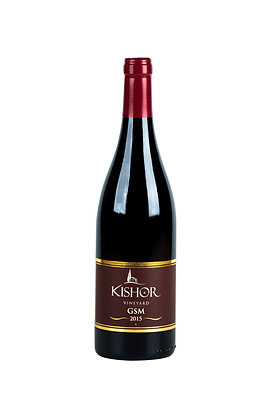 יין אדום GSM מבית יקב כישור - בציר 2015