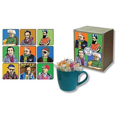 Mug, Candy and Coaster Gift Box
