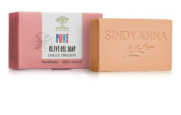 סבון שמן זית עם תוספת רימון