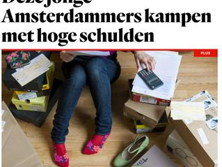 Deze jonge Amsterdammers kampen met hoge schulden