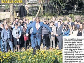 Koning Willem-Alexander wenst MON€Y SCHOOL veel succes!