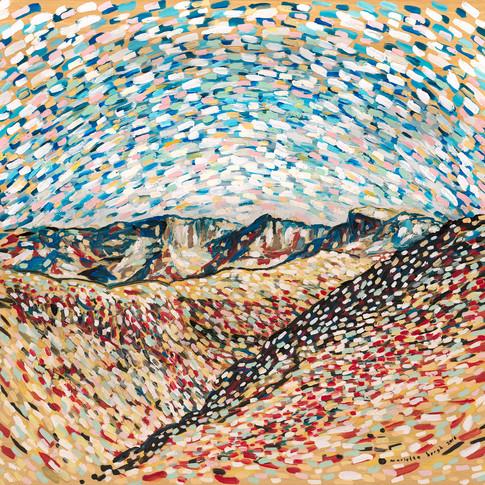 Drakensberg In Oils