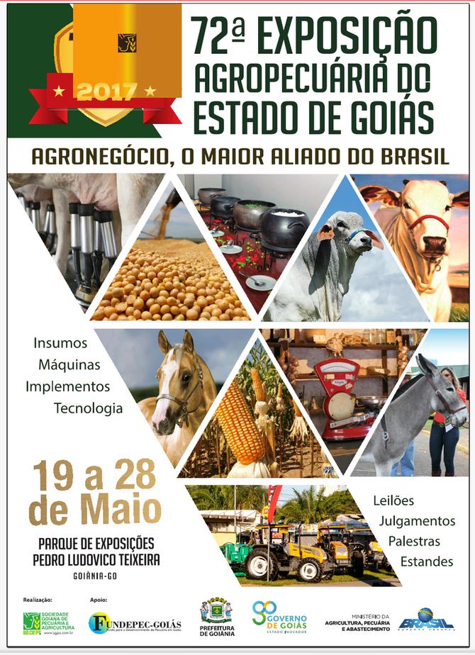 72ª EXPOSIÇÃO AGROPECUÁRIA DE GOIÁS