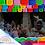Thumbnail: Paquete con 10 tiras de plástico picado Abstracto 10 Multicolor