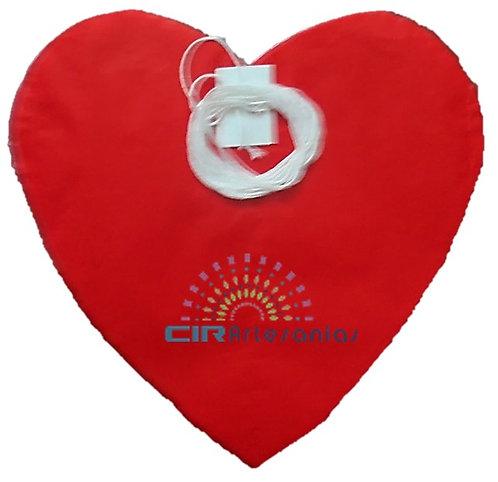 Paquete con 10 tiras de corazón