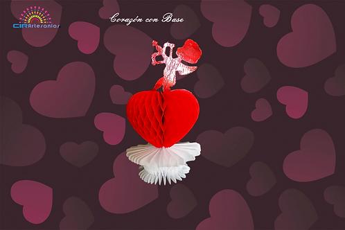 Corazón con Base
