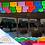 Thumbnail: Paquete con 10 de plástico picado Multicolor tamaño un cuarto