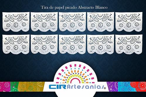 Paquete con 10 Tiras de papel picado Abstracto