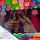 Thumbnail: Paquete con 10 tiras de plástico picado Abstracto Multicolor