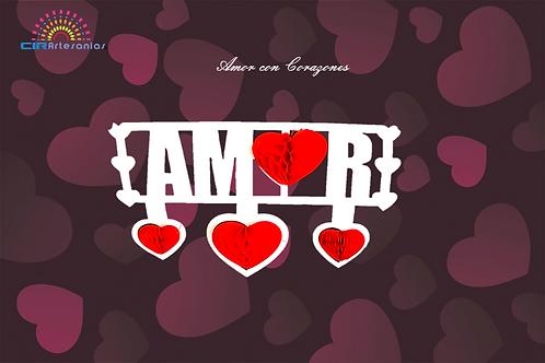 Amor con corazonez