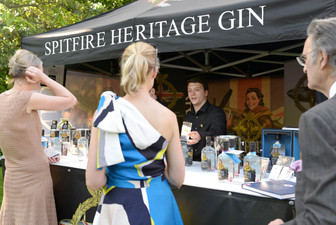Gin in the Garden for the Queen