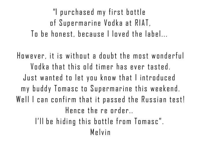 Melvin and Tomasc the Russian Vodka assasin