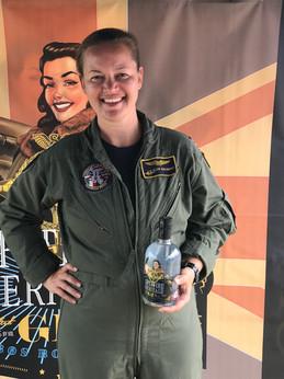 US lady Pilot RIAT