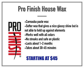 Pro Finish Paste Wax