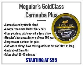 Meguiar's Gold Class