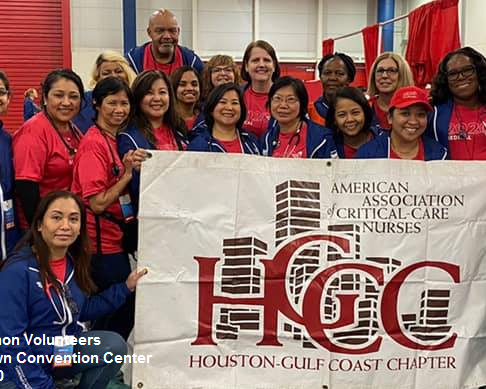AACN Houston Members at the Chevron Houston Marathon