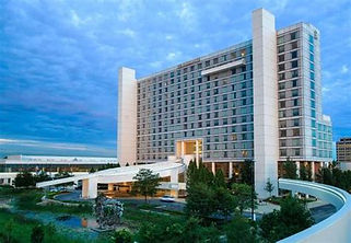 Image of the CSNS host hotel the Renaissance Schaumburg Hotel and Convention Center.