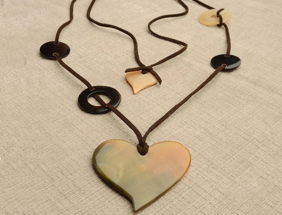 Infinity Moon/Heart necklace