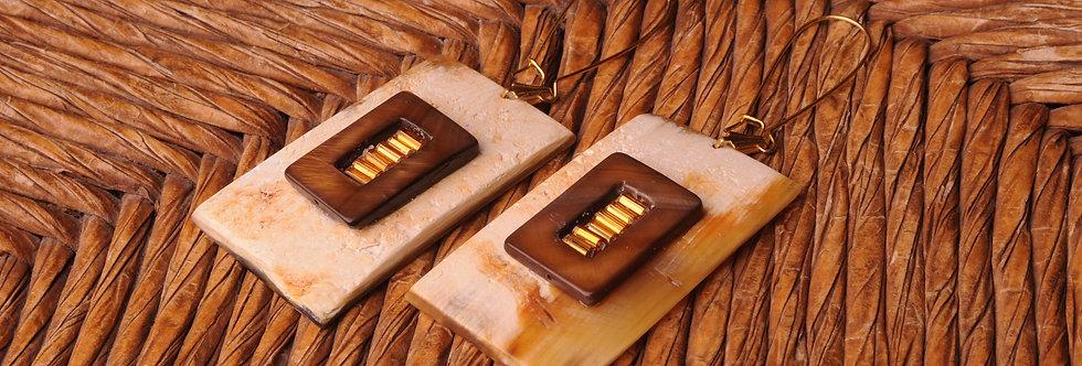 Wahoo Bay Shutters earrings