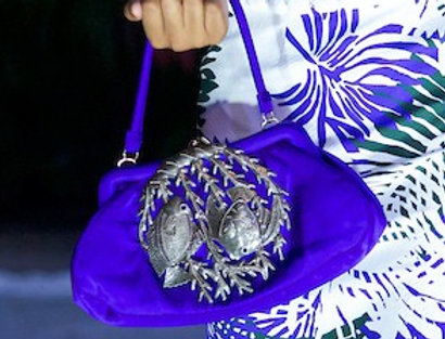 Pauline Silk handbag