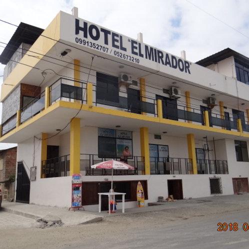 """Hotel """"El Mirador"""" en Manabí"""