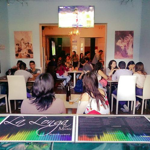 Bar Restaurante en La Mariscal (Quito)