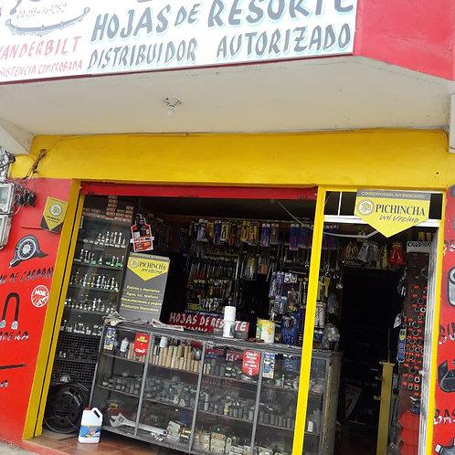 Local de repuestos en Esmeraldas