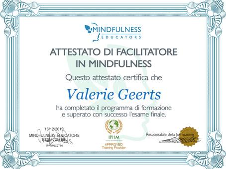 Certificato facilitatore in Mindfulness