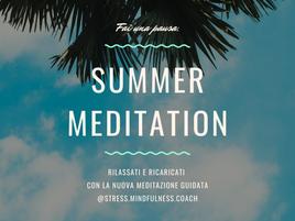 Meditazione guidata - Summer meditation