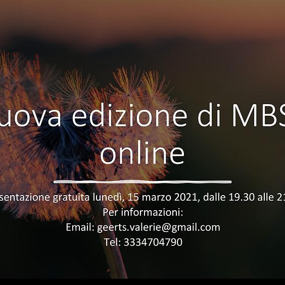 Nuova edizione del programma MBSR online