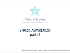 Stress Awareness parte I