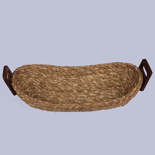 Natural Sabaii Grass Bread Basket(Big)