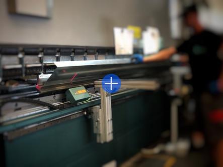 Misurazione laser in piegatura