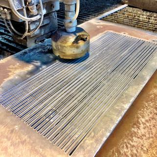 426 Waterjet Alluminio sp.5mm Asole stre