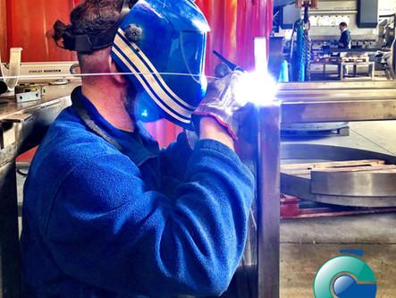 La Saldatura TIG di Luigi Cenghialta - esecuzione a regola d'arte della carpenteria vicentina