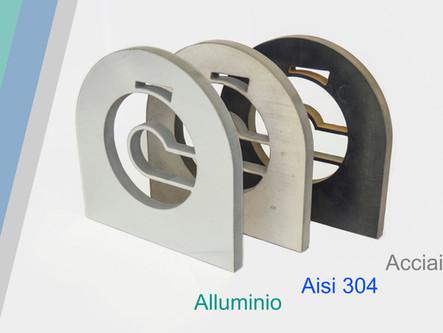 Taglio Alluminio con waterjet - Servizio di taglio metalli di Luigi Cenghialta S.r.l.