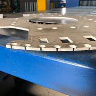 396 Definizione di taglio su alluminio s