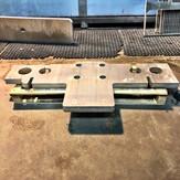 404 Basamento in alluminio di macchine i