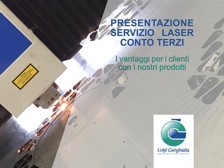 PRESENTAZIONE DEL SERVIZIO LASER - I Vantaggi con i nostri pordotti online: Carter, Staffe, Laserati
