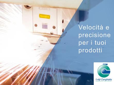 Velocità e precisione per i tuoi prodotti ...con il nostro servizio di taglio laser
