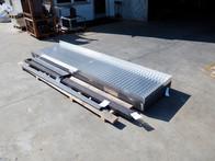 429 pedane in Alluminio per macchinari i