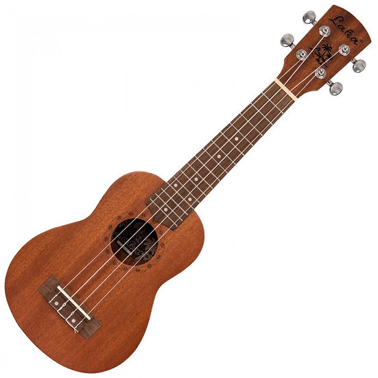 LAKA ACOUSTIC UKULELE & BAG ~ SOPRANO ~ NATURAL