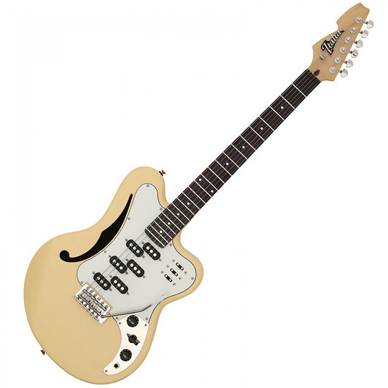 ITALIA VARIO ELECTRIC GUITAR ~ SATIN YELLOW